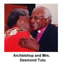 Archbishop & Mrs. Desmond Tutu